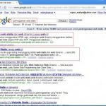 Top Ten keyword blog saya di google.co.id