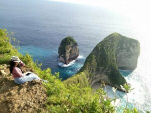 Pantai Kelingking The Secret Point di Pulau Dewata